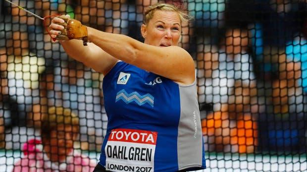 Dahlgren puso en duda su futuro en el atletismo