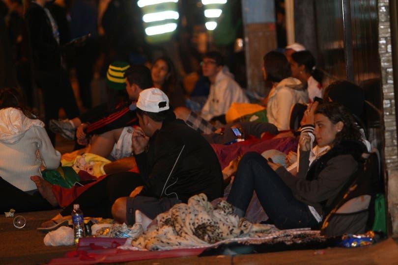 Jóvenes de todas partes del mundo estuvieron presentes en Brasil durante la Jornada Mundial de la Juventud. Foto: LA NACION / Guadalupe Aizaga /Enviada especial