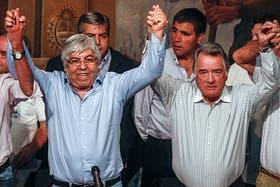 Moyano y Barrionuevo realizan el segundo para nacional, en cuatro meses