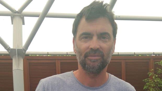 El catalán Sergi Bruguera en Roland Garros