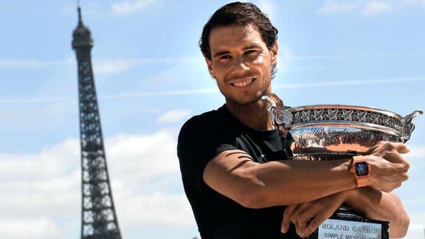 La voracidad del Matador: Nadal alcanzó, el último domingo en París, los 15 Grand Slams