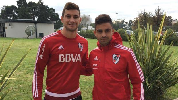 Alario y Martínez, goleadores en la Bombonera