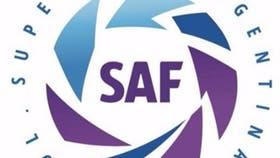 El logo de la Superliga Argentina, presentada ayer