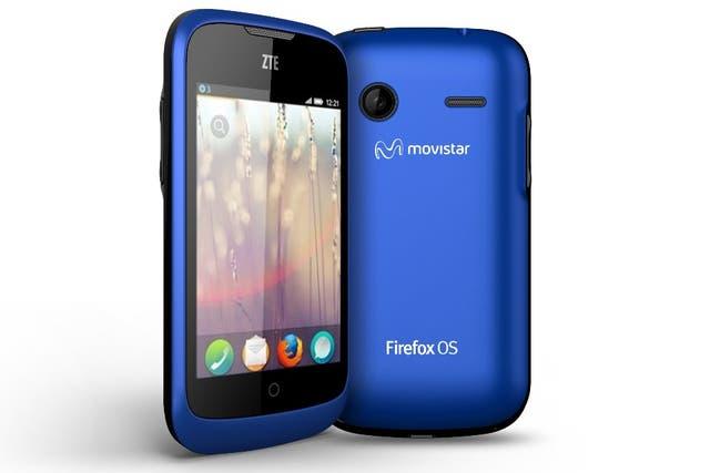 ZTE también mostró su móvil con Firefox, llamado Open. Tiene una pantalla táctil de 3,5 pulgadas y chip a 800 MHz