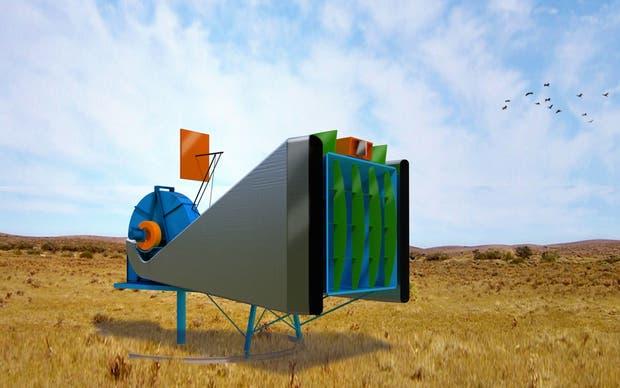 Un generador eólico de diseño nacional
