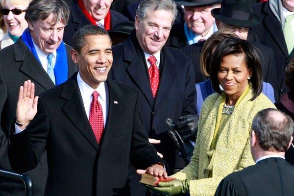Barack Obama jura como presidente de los Estados Unidos