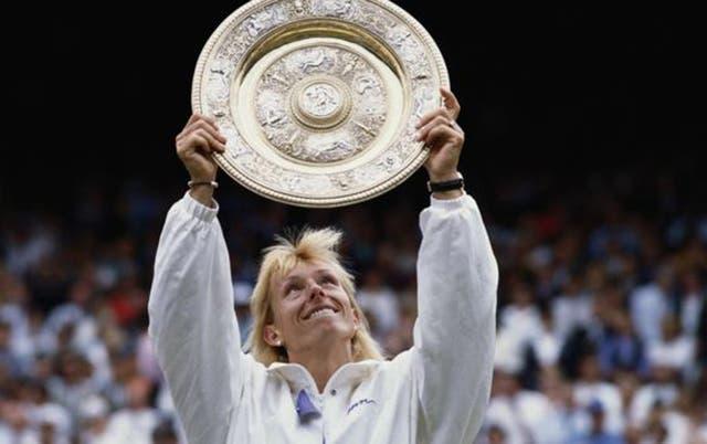 Martina Navratilova dominó el juego femenino durante más de una década y ganó su noveno título de Wimbledon en 1990