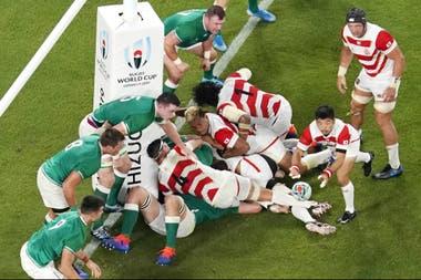 El ataque de Japón sobre Irlanda