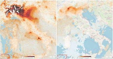 Coronavirus. La contaminación antes y después de la pandemia