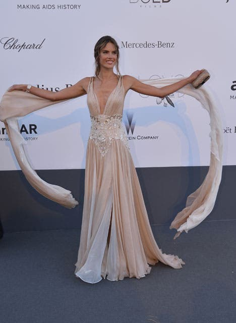 La espectacular modelo de Victoria''s Secret Alessandra Ambrosio.  Foto:  / Getty Images