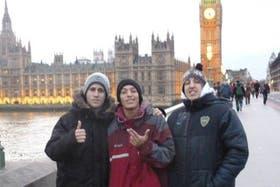 Los Wachiturros en Londres, Inglaterra