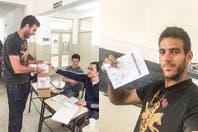 Así votaron los deportistas, en el día en que reapareció #militopresidente