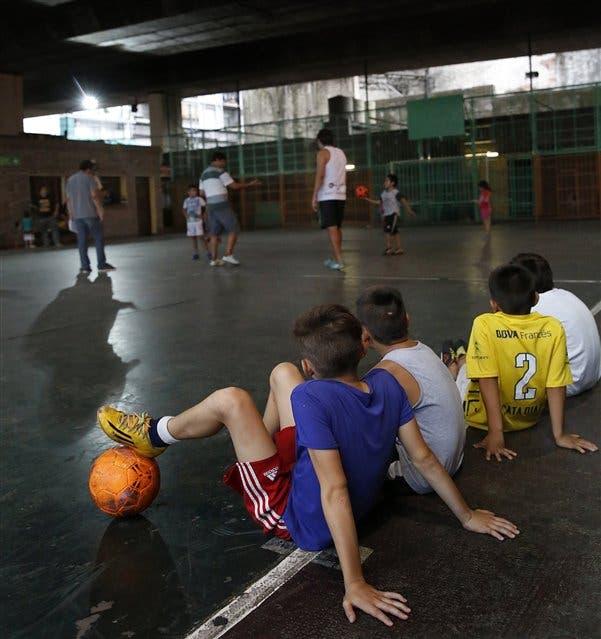 Más de 300 chicos vulnerables asisten al lugar