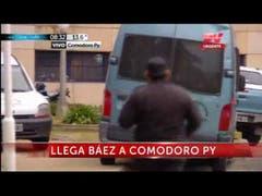 Llegada de Lázaro Báez a comodoro Py