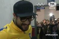 Lo que pasó en el vestuario de Boca: Guillermo Barros Schelotto lo encontró a Daniel Osvaldo fumando tras el partido