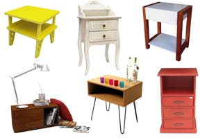Mesas de luz: 10 modelos para renovar tu cuarto