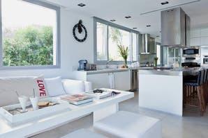 Cocina y sala de estar, todo en uno