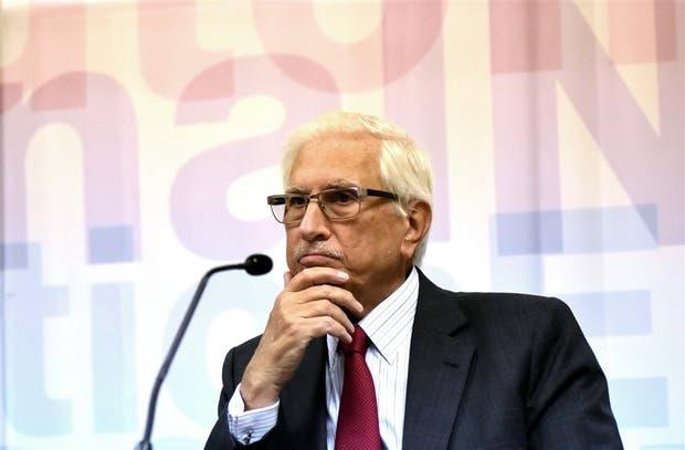 Todesca, ayer en la conferencia de prensa del Indec para presentar el nuevo índice