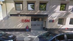 El edificio de C5N