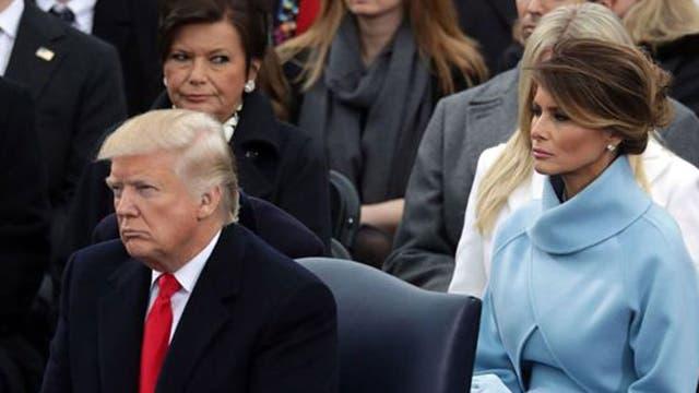 Algunos analistas notaron cierto distanciamiento entre la pareja presidencial el día de la toma de posesión