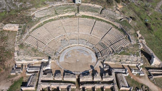 Archaeological Site of Philippi. La Unesco estudia incluir en su inventario algunos bienes cultural del mundo. Foto: Sitio oficial de la Unesco