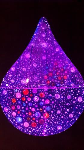 Gota de Agua (2014), una de sus últimas creaciones