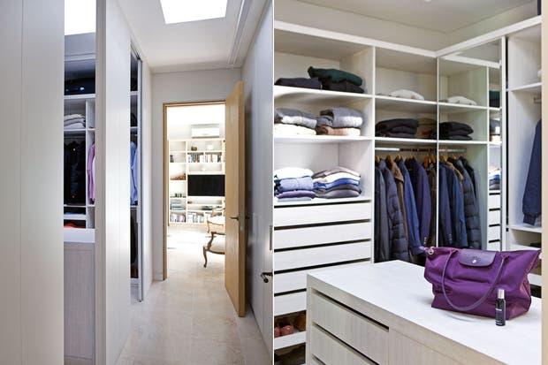 Baño Con Vestidor Medidas:Baño + vestidor: espacios luminosos y bien aprovechados – Violeta