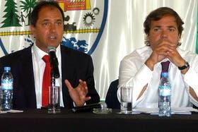 El gobernador Daniel Scioli enfrenta duros reclamos de los docentes de la provincia