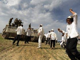 En la frontera con Gaza, festejos israelíes por el fin de los cohetes