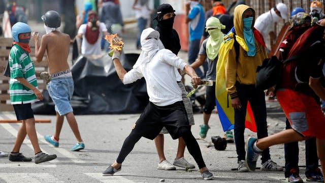Ya son más de 100 los muertos durante las protestas en Venezuela