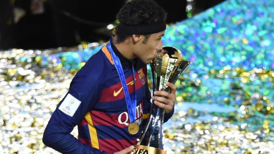 Neymar, su paso por el Barcelona y la amistad con Messi. Foto: AFP
