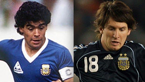 Diego Armando Maradona, Lionel Messi