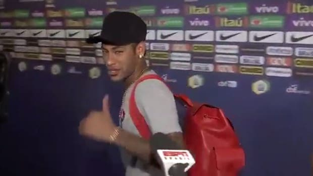 """Neymar """"feliz"""" por la clasificación de la Argentina: así reaccionó el brasileño cuando le preguntaron por Lionel Messi"""