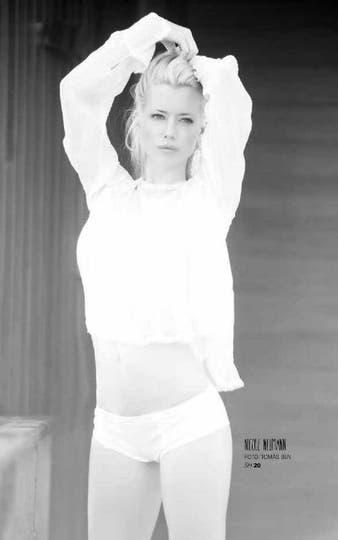 Nicole Neumann. Foto: Revista SH