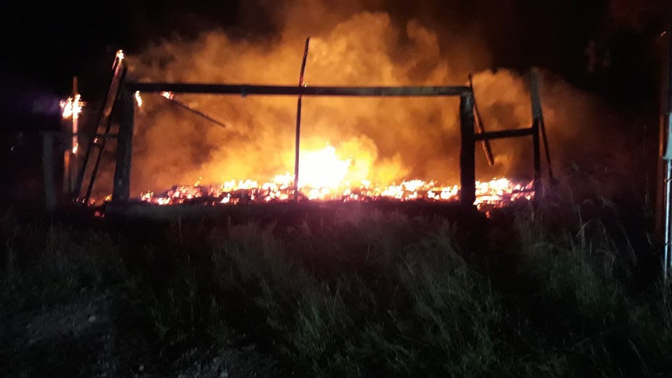 Posible ataque incendiario a dos capilla en la Araucanía