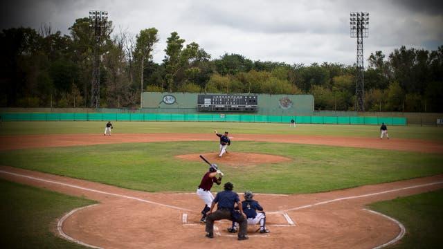 Entrenamiento de la selección Argentina de Béisbol. Foto: Aníbal Greco