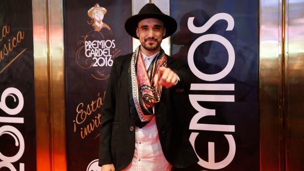 Abel Pintos, el artista más nominado