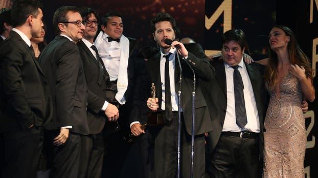 El Marginal se quedó con el Martín Fierro de Oro. Foto: Prensa El Trece
