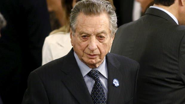 El empresario Franco Macri, padre del Presidente