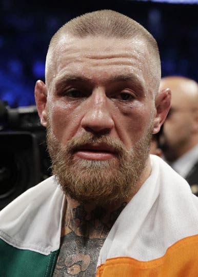 Así quedó el rostro de McGregor, el perdedor