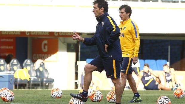 Los Barros Schelotto, tras el primer año con Boca