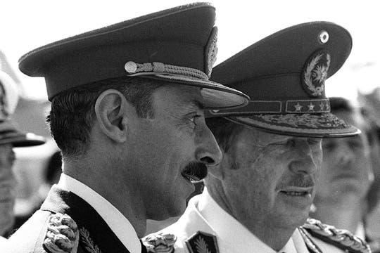 En 1977 se reunió con el, entonces, presidente de Paraguay  Alfredo Stroessner. Foto: Archivo