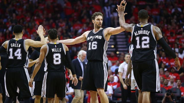 La contundencia de los Spurs
