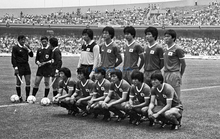 El conjunto coreano. Foto: LA NACION