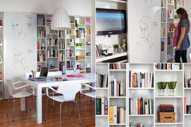 Muebles para guardado living 20170806033301 for Muebles bibliotecas para living