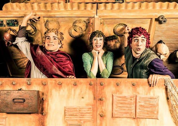 Palladino, Kraufmann y Scrocco