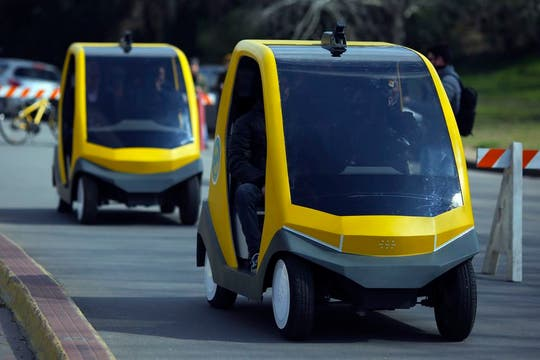 La tecnología detrás de los autos autónomos del Gobierno porteño es de dos empresas argentinas. Foto: LA NACION / Aníbal Greco