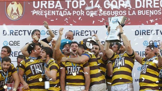 Belgrano, el nuevo campeón del rugby de la URBA