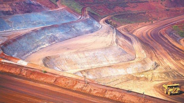 Un vistazo a la mina de hierro de Vale Brucutu cerca de Barão de Cocais en Minas Gerais, que enfrenta muchos desafíos, conforme la actividad minera disminuye