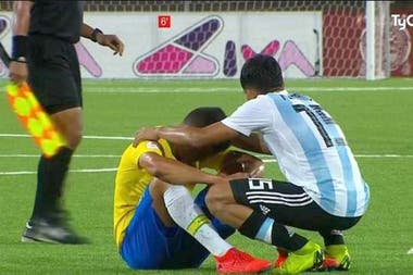 Comfort Argentine Brazilian players are still very positive points victory